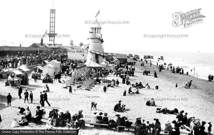 Cleethorpes, the Beach 1906