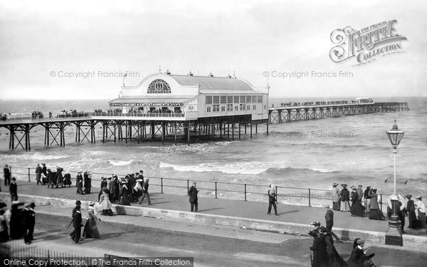 Cleethorpes, the Pier 1906