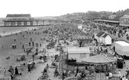 Cleethorpes, view from the Big Wheel c1955