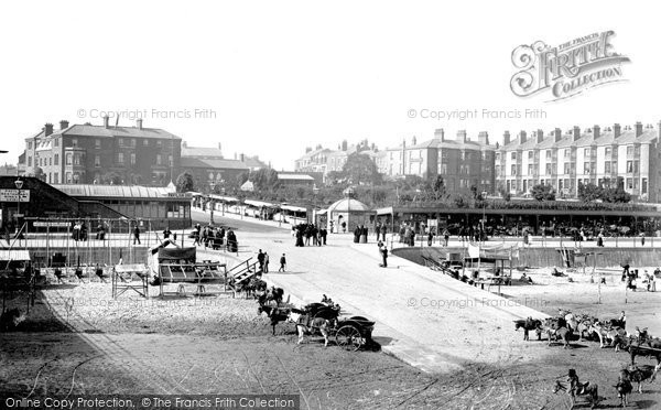 Cleethorpes, view from the Pier 1899