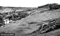 Cleeve Hill, Nottingham Hill And Golf Course c.1955