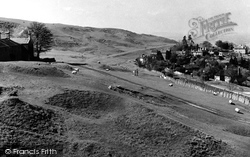 Cleeve Hill, Racing Stable And Old Golf Course c.1955