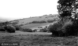 Cleeve Hill, The Cotswolds Hills c.1960