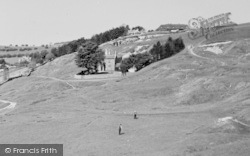 Cleeve Hill, The Golf Links c.1960
