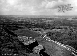 Cleeve Hill, View To The Malvern Hills 1931
