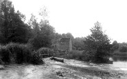 Cleeve Prior, Cleeve Mill On The Avon 1901