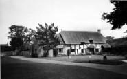 Cleeve Prior, Fir Tree Corner c.1960
