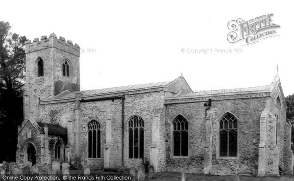 Clenchwarton, the Church of St Margaret c1965