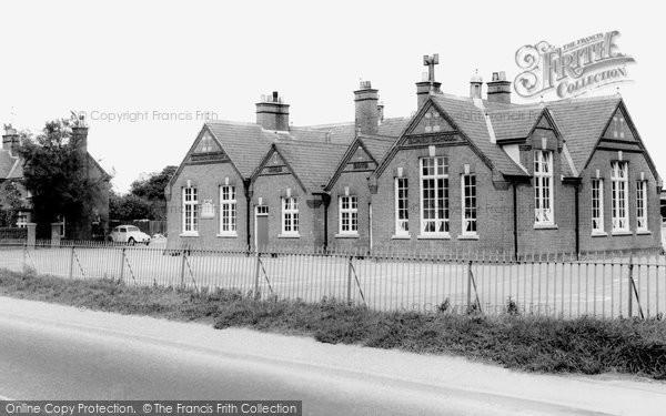 Clenchwarton, the School c1965
