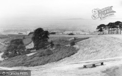 Clent, Early Morning Over The Clent Hills c.1955