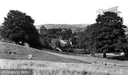 Clent, The Village From Clent Hills c.1955