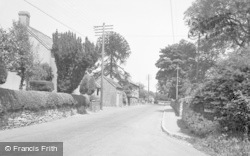 Cleobury Mortimer, Bewdley Road c.1955