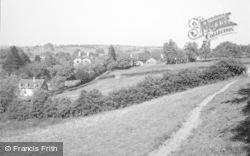 Carvers Hill c.1950, Cleobury Mortimer