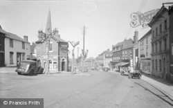 Cleobury Mortimer, Church Street 1955