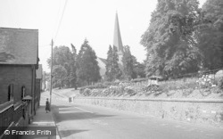 Cleobury Mortimer, Church Street c.1955