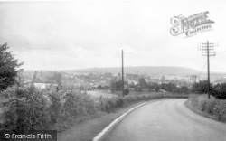 Cleobury Mortimer, General View 1956