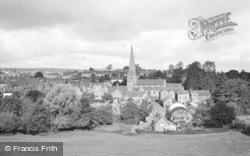 Cleobury Mortimer, General View 1967