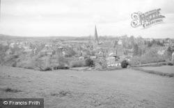Cleobury Mortimer, General View c.1955