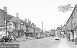 Cleobury Mortimer, High Street 1954