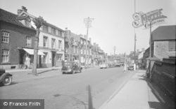 Cleobury Mortimer, High Street 1955