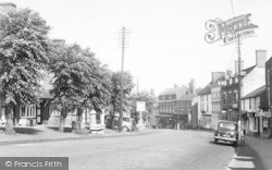 High Street 1956, Cleobury Mortimer