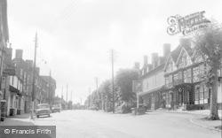 Cleobury Mortimer, High Street 1956