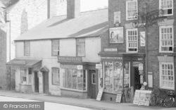 High Street Shops c.1950, Cleobury Mortimer