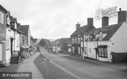 Cleobury Mortimer, Lower Street 1967