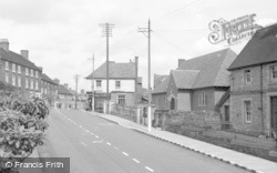 Cleobury Mortimer, Lower Street And Chapel c.1955