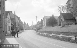 Cleobury Mortimer, Market Place c.1955