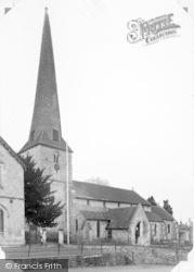 St Mary's Church 1954, Cleobury Mortimer