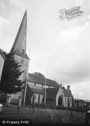 Cleobury Mortimer, St Mary's Church 1967