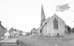 St Mary's Church 1968, Cleobury Mortimer