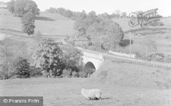 Cleobury Mortimer, The Bridge c.1955
