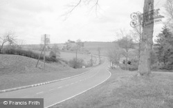 Cleobury Mortimer, The New Bridge And Road c.1955