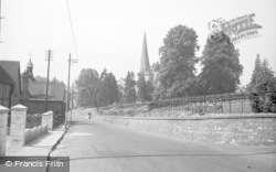 Cleobury Mortimer, The Parish Church c.1955