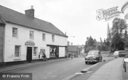 Cleobury Mortimer, The Post Office 1967