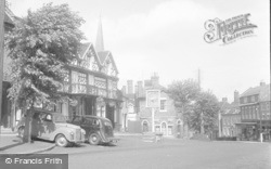 Cleobury Mortimer, The Talbot Hotel 1956