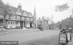 The Talbot Hotel c.1950, Cleobury Mortimer