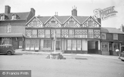 Cleobury Mortimer, The Talbot Hotel c.1955