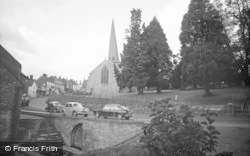 Cleobury Mortimer, Wells Place 1967