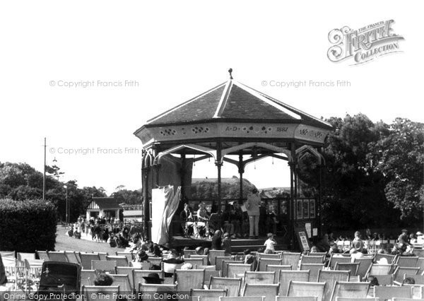 Clevedon, The Bandstand c.1950