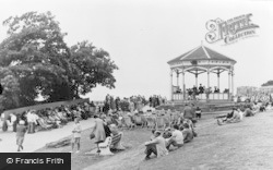 The Bandstand c.1955, Clevedon