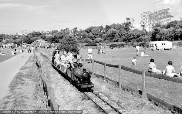 Clevedon, The Miniature Railway 1962