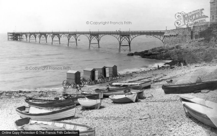 Photo of Clevedon, The Pier 1892