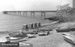 Clevedon, the Pier 1892