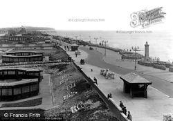Promenade And Gardens c.1950, Cleveleys
