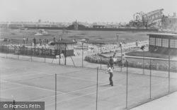 Tennis Courts c.1955, Cleveleys