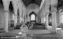 Cley-Next-The-Sea, Interior Of St Margaret's Church 1969