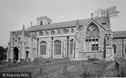 Cley-Next-The-Sea, St Margaret's Church 1969
